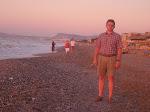 Ich am Strand von Platanias / Я на пляже местечка Платаниас