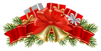 Transparent_Christmas_Decor_with_Bells_PNG_Clipart