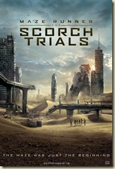Maze Runner The Scorch Trials poster