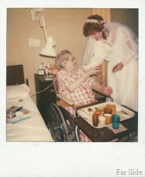 Grandma Abbott and unknown gal