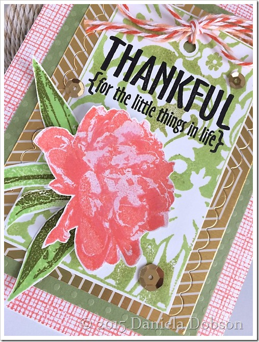 Thankful close by Daniela Dobson