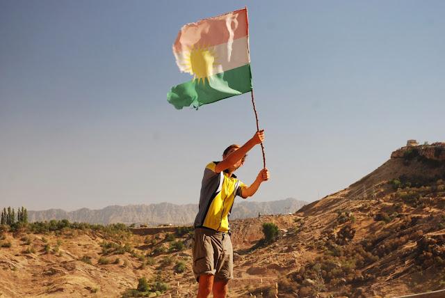 Flaga Kurdystanu