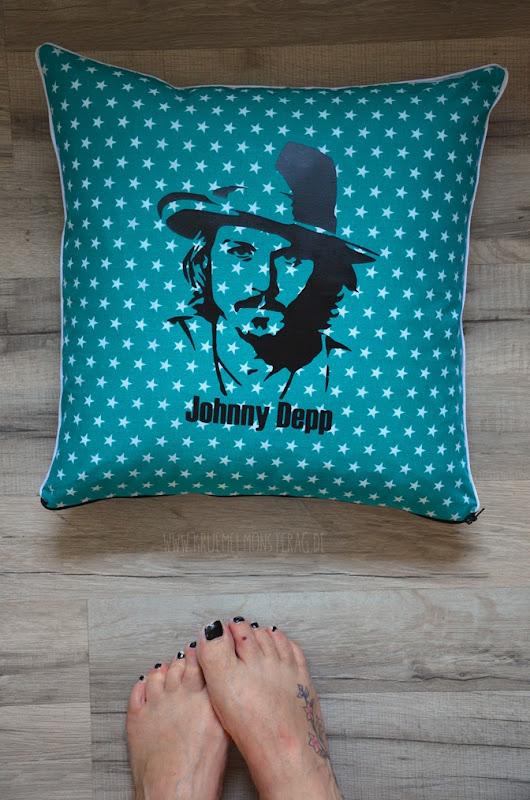 Kissen (01) Johnny Depp