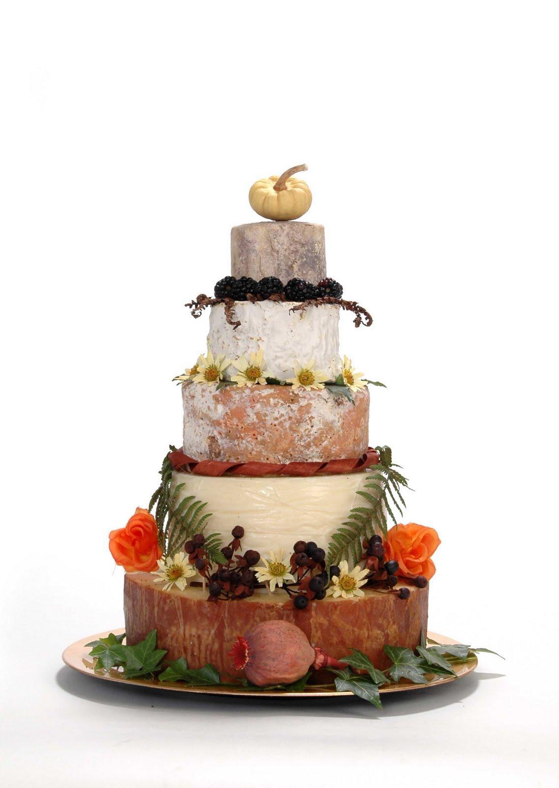 cheese weddings cakes!