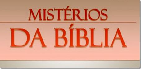 Os mistérios da Bíblia