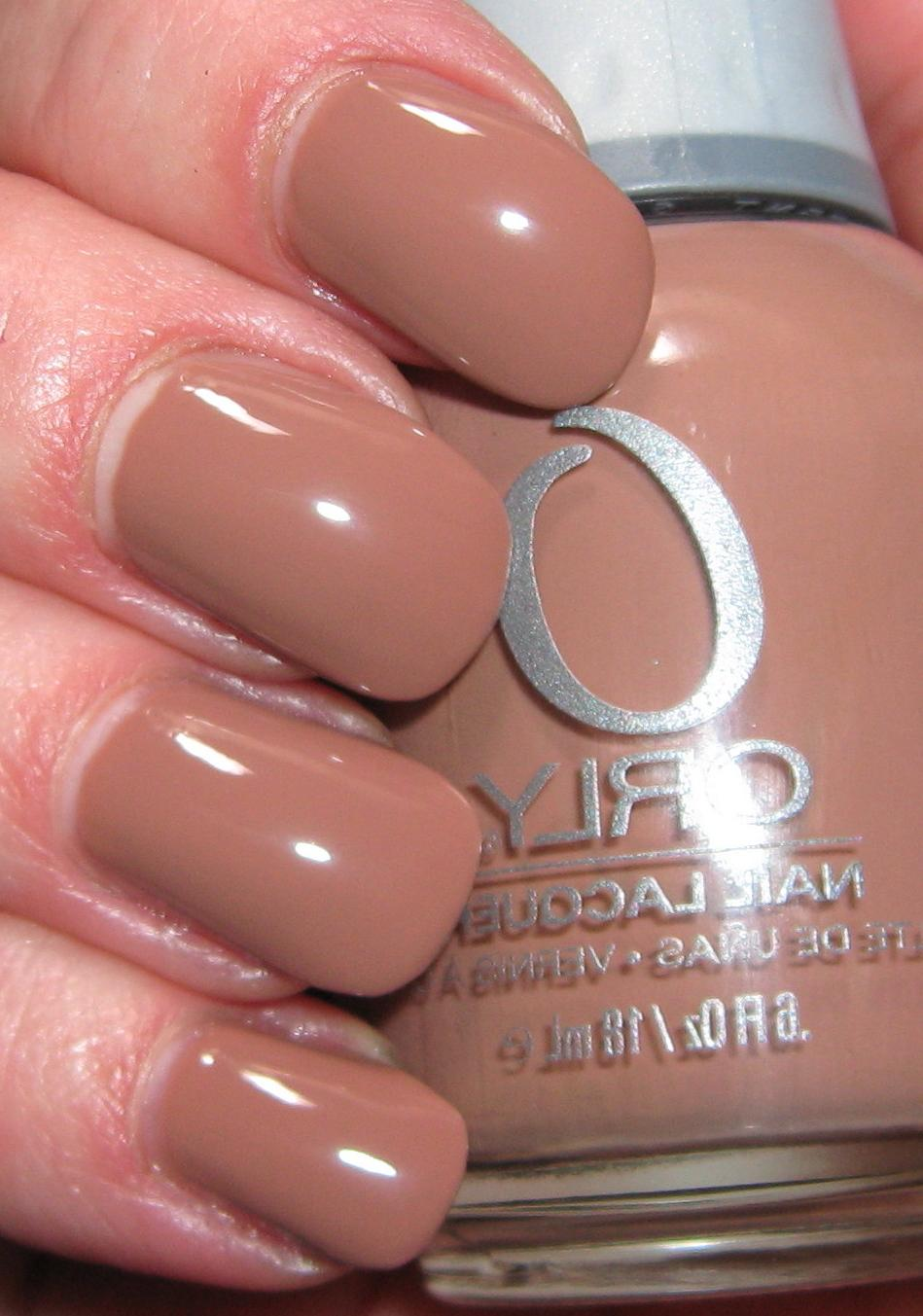 a neutral taupe creme with