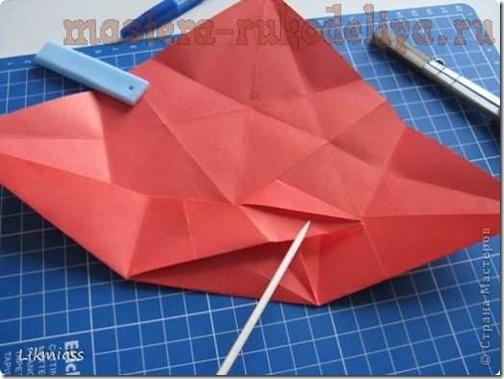 flor de pascua origami (13)