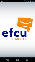 Screenshot of EFCU Financial App