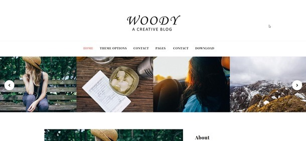 woody-template