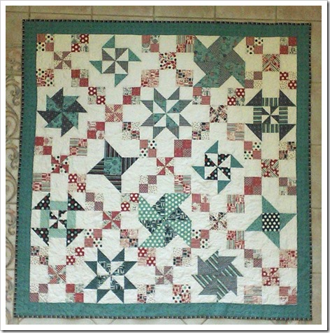 Pinwheel Block of the Month