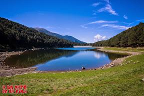 Lago de Engolasters. ©aunpasodelacima