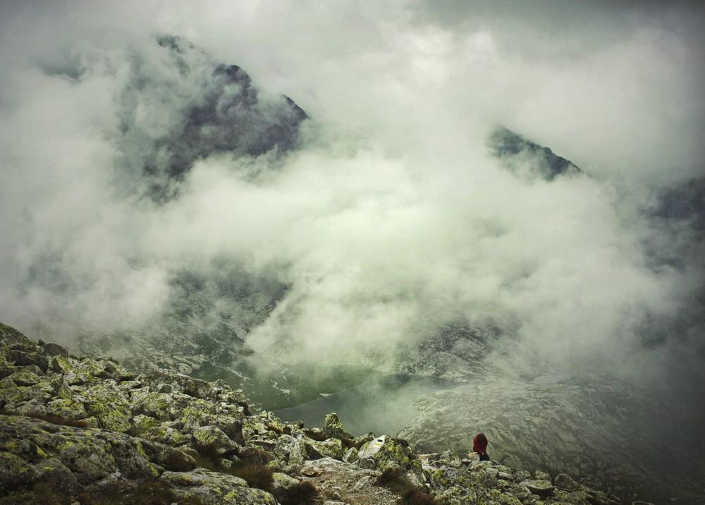 Podejście do Lodowej Dolinki