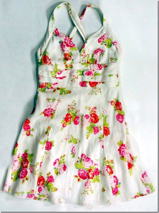 vestido estampado lelis blanc brechó camarim.16-002