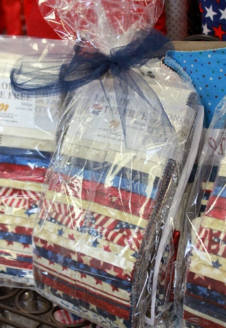 Land of the free display quilt kit
