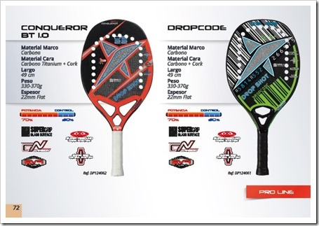 Drop Shot Tenis Playa Beach Tennis 2015 conqueror bt 1.0 y dropcode