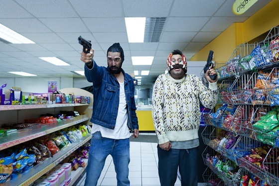 Adeel Akhtar and Ray Panthaki in Convenience