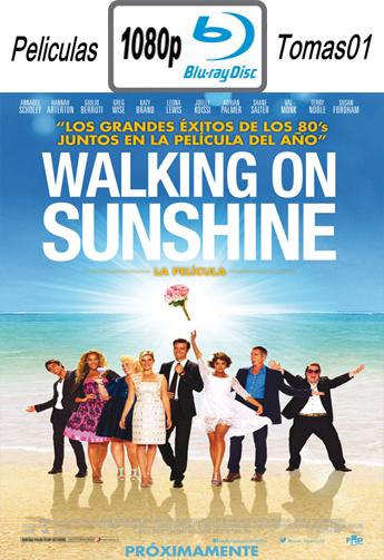 Walking on Sunshine (2014) [BDRip m1080p/Dual Castellano-ingles]