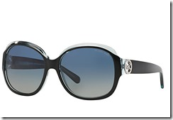 Michael Kors Kauai Sunglasses black with pale blue green