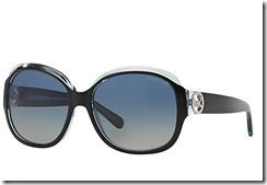 Michael Kors Kauai Sunglasses black with pale blue green