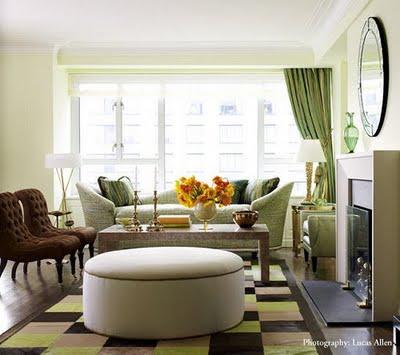 farbgestaltung - 21 tipps für harmonisch grüne wohnräume - Wohnzimmer Beige Grun Braun