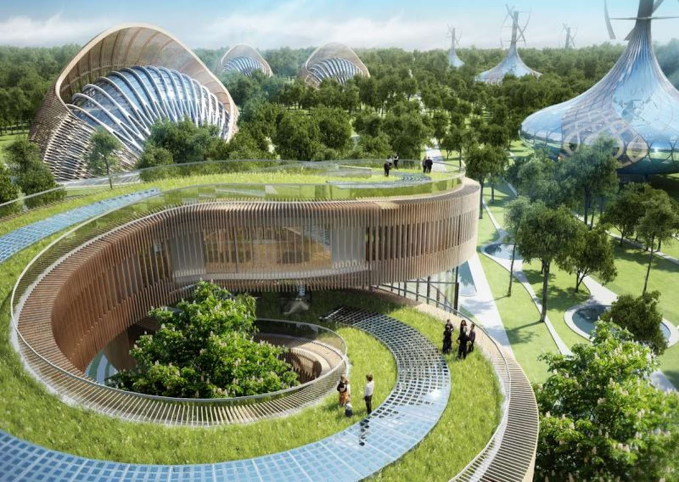 Flavours Orchard by Vincent Callebaut Architecture