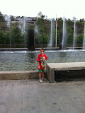 Dancing water fountain at Branson Landing in Branson MO 08182012-06