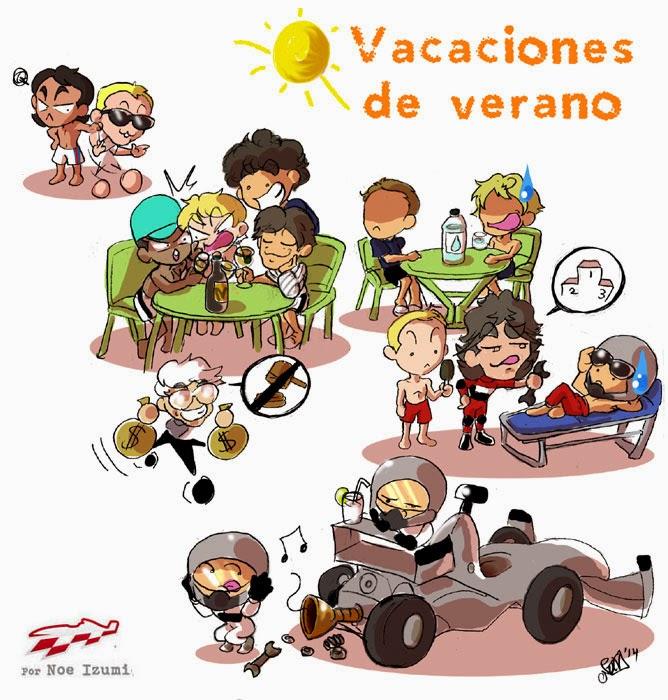 чиби-пилоты на летних каникулах - комикс Noe Izumi