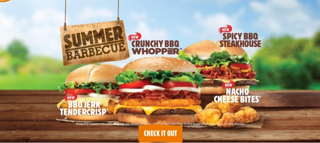 Burger King Summer Barbecue