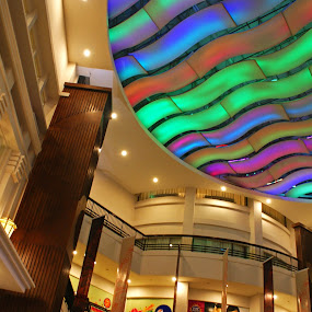 Inside Mall by Mulawardi Sutanto - Buildings & Architecture Other Interior ( building, arsitectur, travel, bandung, mall )