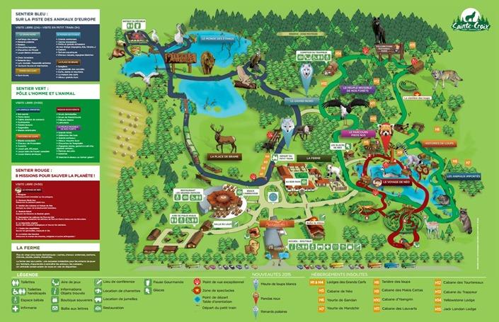 Sainte-Croix plan