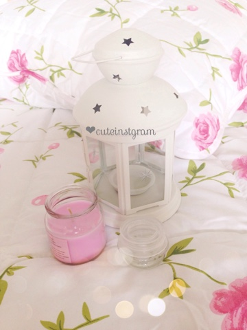 Lantern for Yankee Candles
