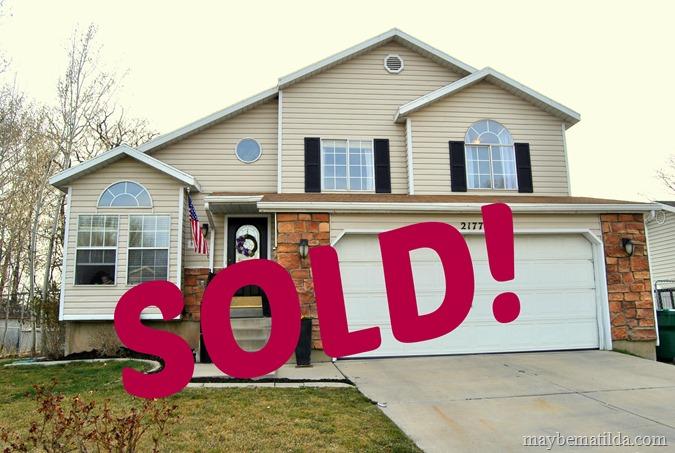 a house sale