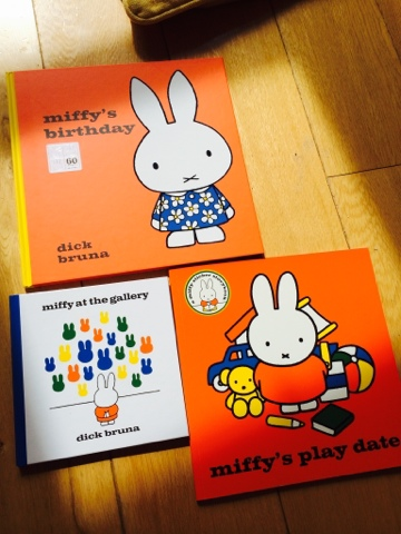 Miffy's Birthday, Miffy at the Gallery and Miffy's Play Date. Miffy Mums