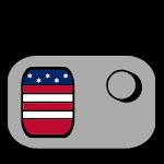 US Radio Station FM Icon