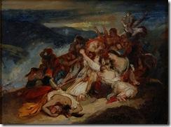 esquisse-Ary-Scheffer-1795-1858-Les-femmes-Souliotes
