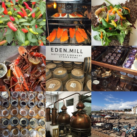 #LoveFife Chocolate, Seafood and Gin in the East Neuk