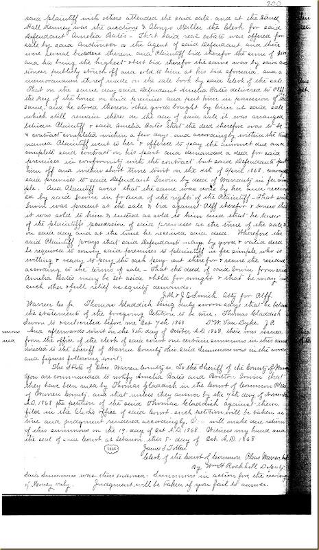 Britton Moore Irwin buys land Amelia Bates 1869 4