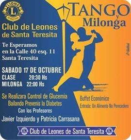 Tango y Milonga con un fin de Salud