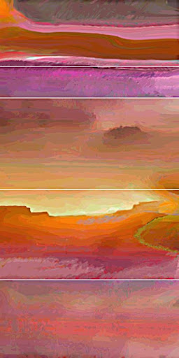 """The """"Red Mesa 2"""" piece from the """"2003"""" collection"""
