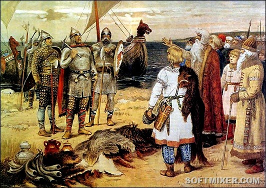 Сбор-дани-в-Древней-Руси