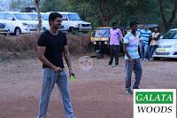 Vijay plays shuttlecock at shooting spot of Vijay 59 Images Pics Stills Photos Gallery