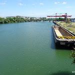 Port de Gennevilliers : La Seine