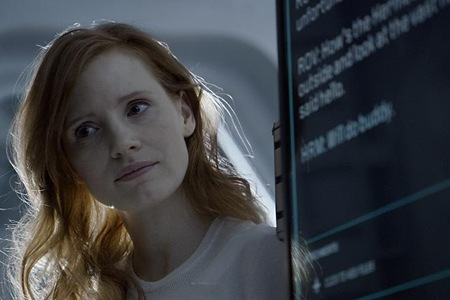 Jessica Chastain stars in The Martian