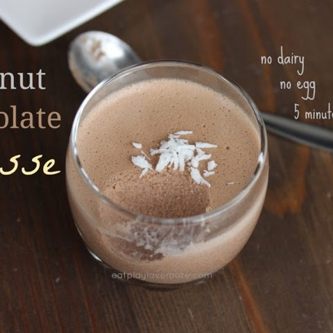 Coconut Chocolate Mousse (Paleo, Primal)