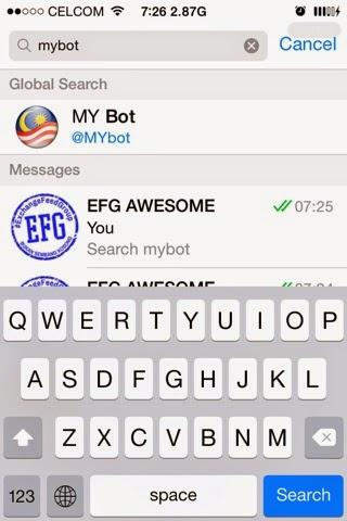 MyBot Telegram memudahkan kerja