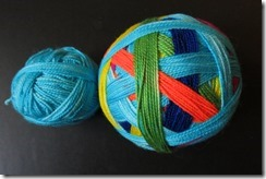 Lollipop Yarn - Gripes Base - Blue Skies and Rainbows