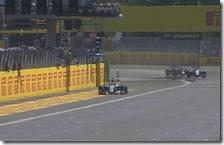 Lewis Hamilton vince il gran premio d'Italia 2015