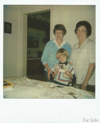 Jennifer and  her Grandmothers  1982