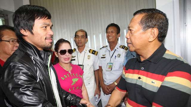 Image of Filed Petition to Disqualify Manny Pacquiao Candidacy