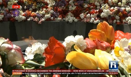 imatge de la commemoracion del genocidi dels Armenians 4